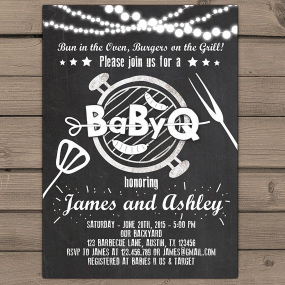 top 25+ best baby q invitations ideas on pinterest | diaper shower, Baby shower invitations