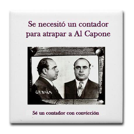 Se necesito un contador para atrapar a Al Capone. Se un Contador con Convicción. #Contabilidad #ICSEmexicali