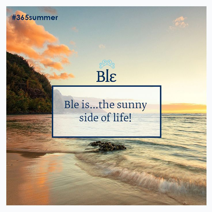 Good morning everybody! Find sunny fashion ideas at www.ble-shop.com