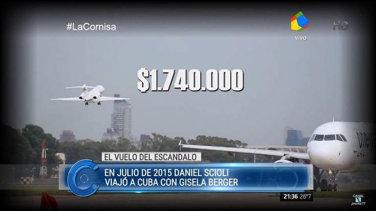 """Informe """"Cuba: el vuelo del escándalo"""" de H.Macchiavelli en """"La cornisa""""..."""