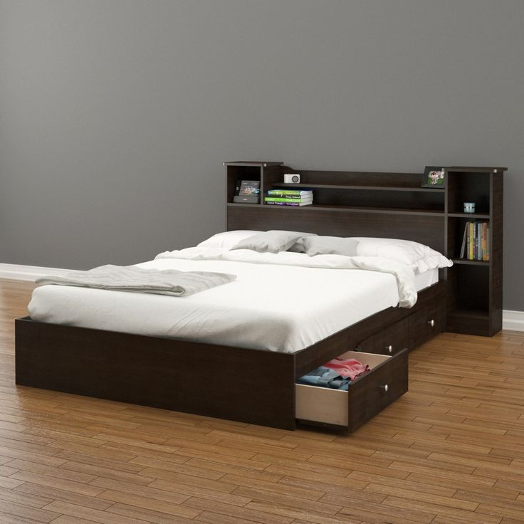 Pocono Full Size Headboard 4653 from Nexera, Espresso