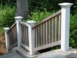 wooden railings exterior