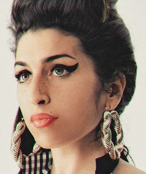 The most beautiful picture of Amy Winehouse I have seen.