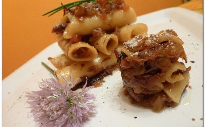 Pasta alla Genovese affumicata al noce (Low & Slow Partenopeo)