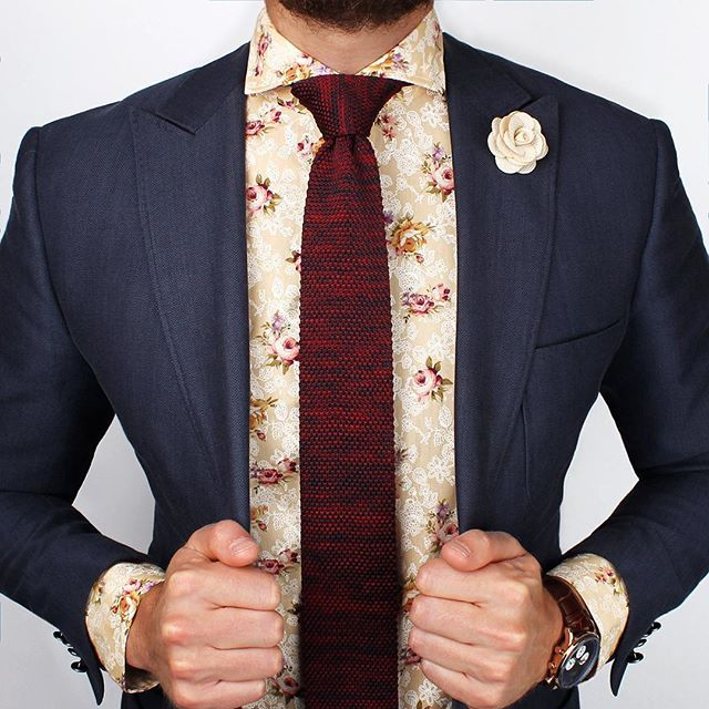 The Parc Floral Shirt - Available at www.grandfrank.com