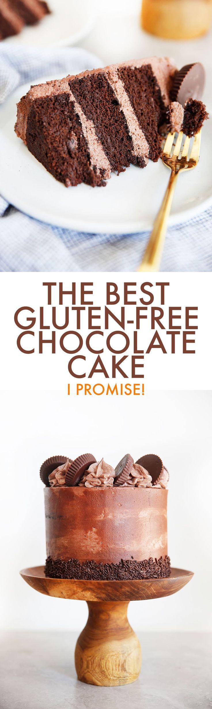 The BEST Gluten-Free Chocolate Cake Recipe – Lexi's Clean Kitchen