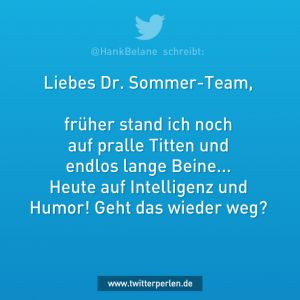 Liebes Dr. Sommer-Team.