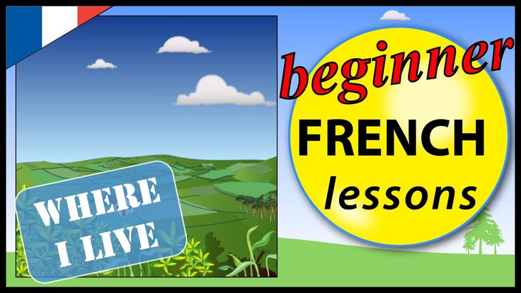 Where I live in French | Beginner French Lessons for Children