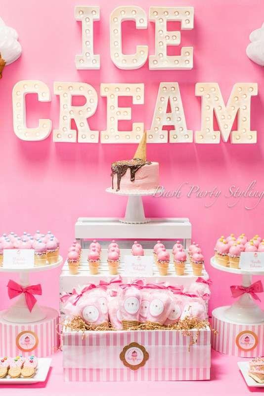 ice cream birthday party ideas - Birthday Party Decoration Ideas