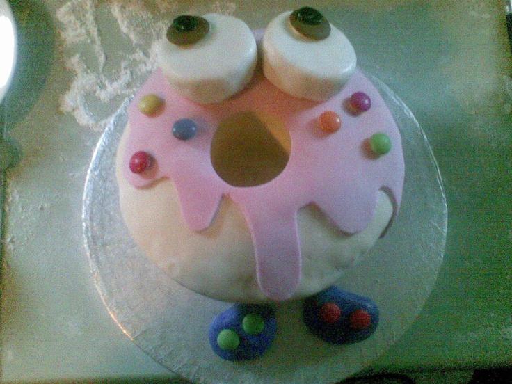 moshling birthday cake