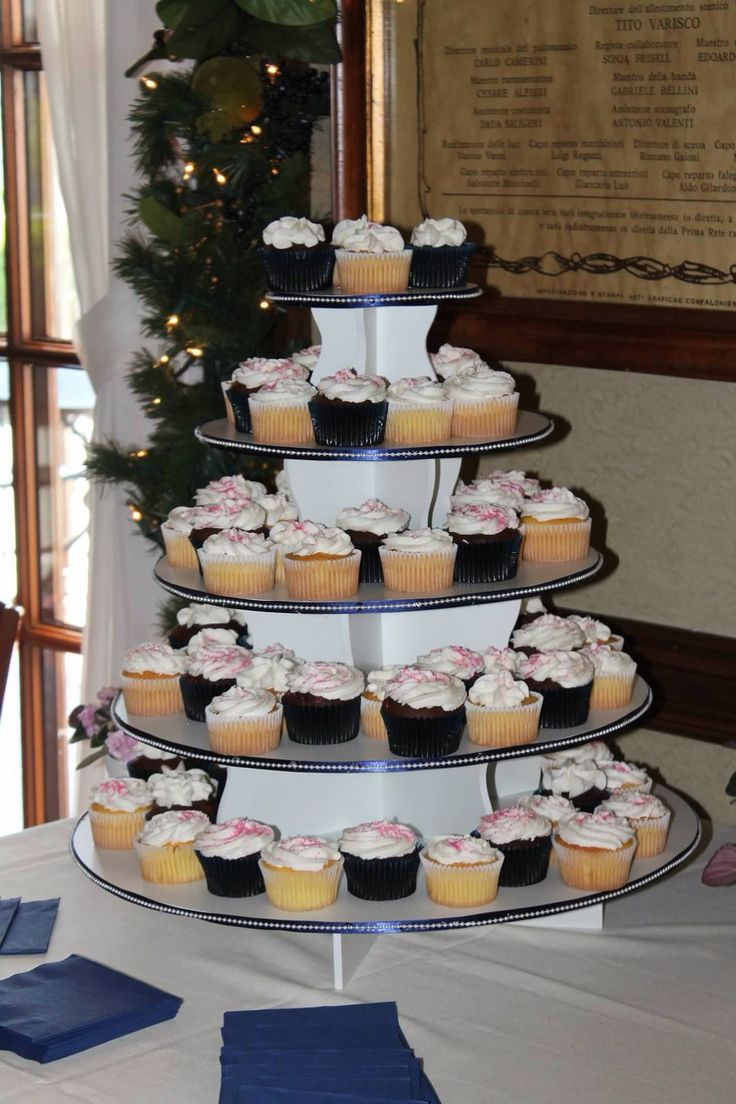 Round Cupcake Tower Display: http://www.thesmartbaker.com/products/5-Tier-Round-Cupcake-Tower.html
