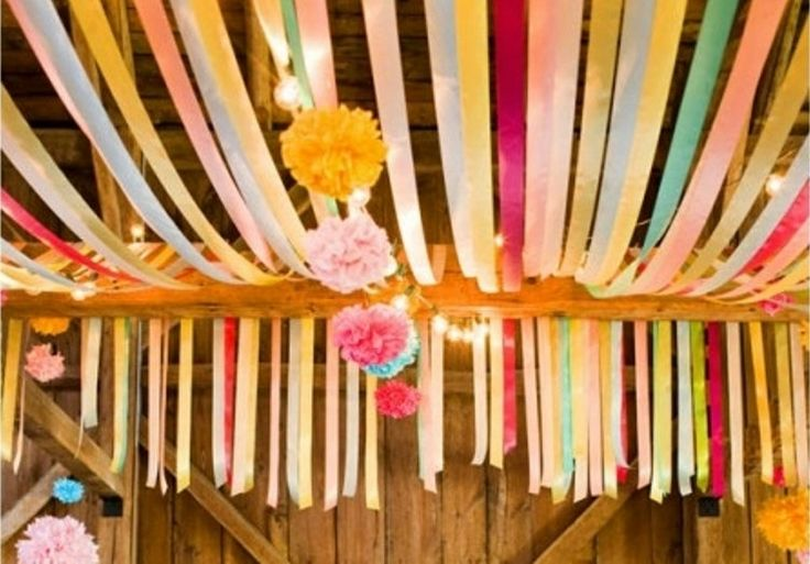 Crepe Paper Streamers // tissue paper streamers // by PomLove, $2.50