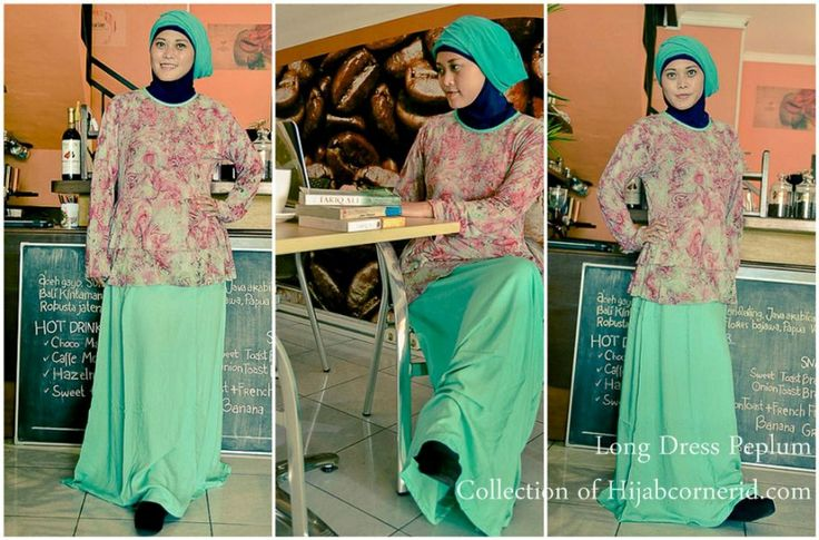 Long Dress Pop Batik