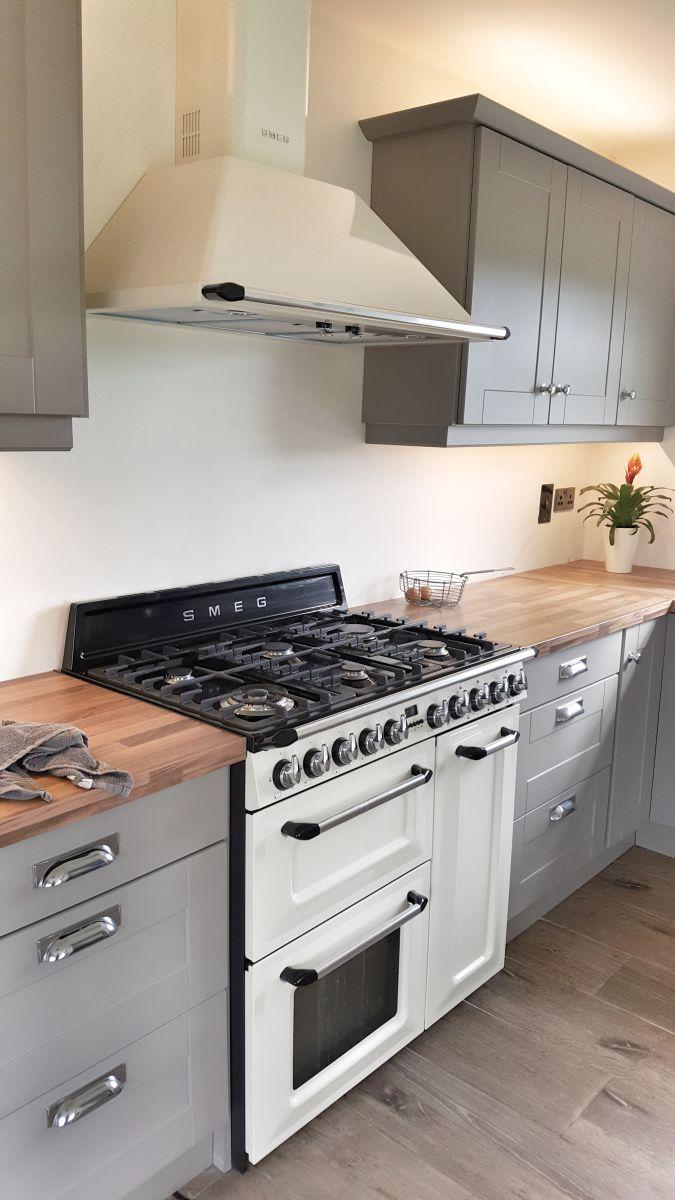 Grey Shaker Kitchen | INTERIOR INSPIRATION | IRISH DESIGN | INTERIOR BLOG | COUNTRY CHIC | COTTAGE KITCHEN