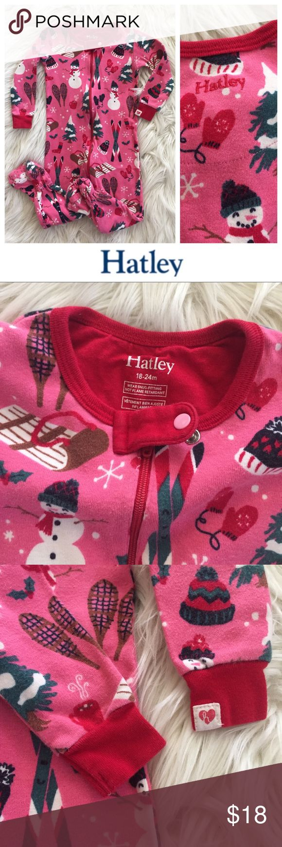 Hatley Holiday Pajamas The most adorable used Hatley winter holiday pajamas. Size 18-24m. Bundle to save even more — I have tons of kids clothes and my closet's meant to be bundled! Hope you enjoy ♥️ Hatley Pajamas