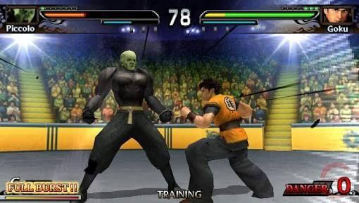 Download Dragon Ball Evolution Game PPSSPP Compressed
