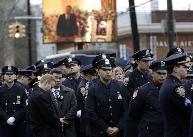 Фото - путешествия по миру: Полицейские Нью-Йорка: «Мы не враги народа»