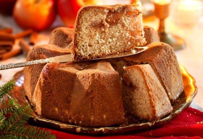Recept mjuk äppelkaka med kanel