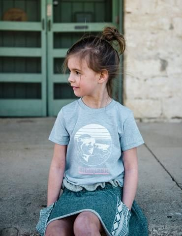 Amelia Earhart T-shirt - American Apparel's Fine Jersey T- Shirt :: Enjoy everything you love about the fit, feel and durability of a vintage fabric, in a brand new version. 100 % Cotton construction. Screen printed ::