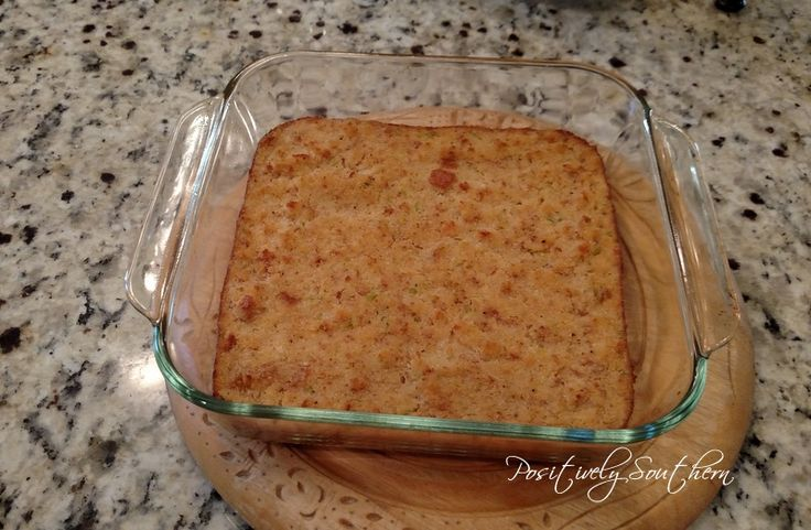 Positively Southern: How To Make Cornbread Dressing