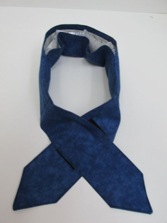 Blue Neck Cooler Scarf Cooler Reusable Cooler by JustBeautiful161