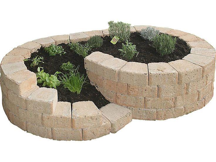 Einfache Verlegung • Dekoratives Element für den Garten ✓ Kräuterschnecke Sand klein 200 cm x 125 cm x 40 cm im OBI Online-Shop kaufen