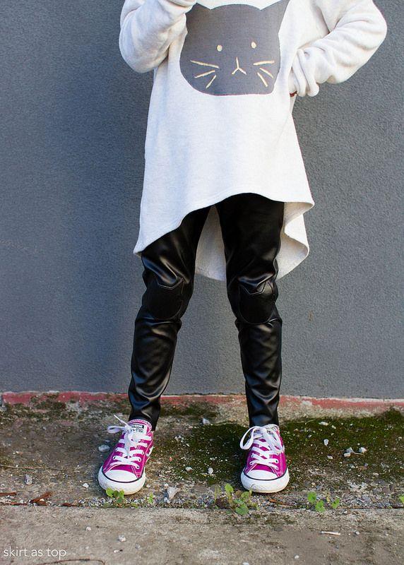 mini kitty briar + virginia leggings by Skirtastop