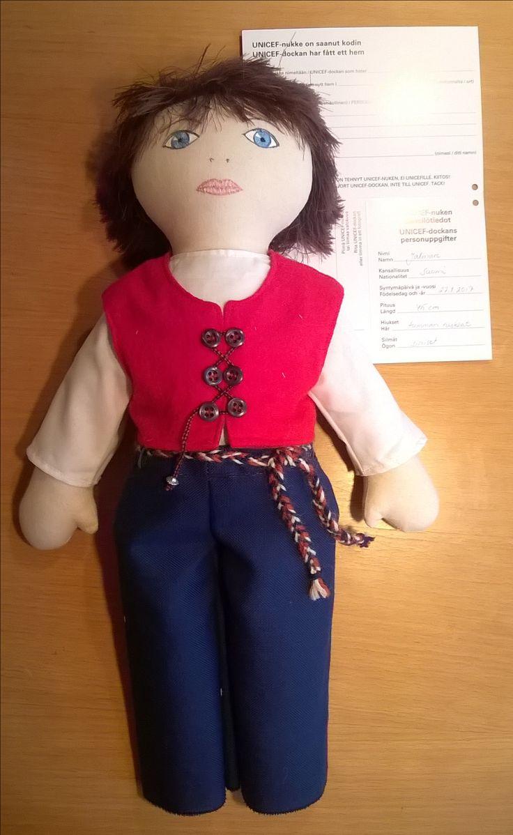Jalmari Unicef-nukke