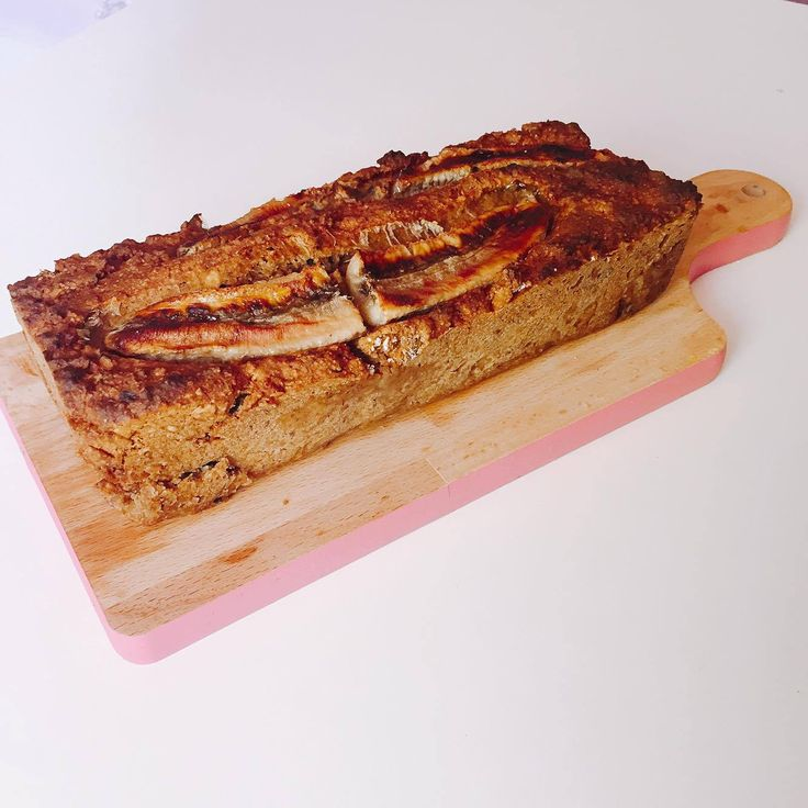 FIT banánový chleba - VEGAN | Zdravě jím