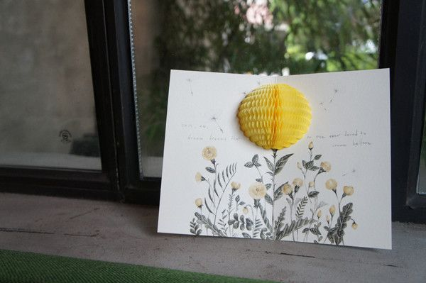 Pop-Up Card - Thank You from Camélia