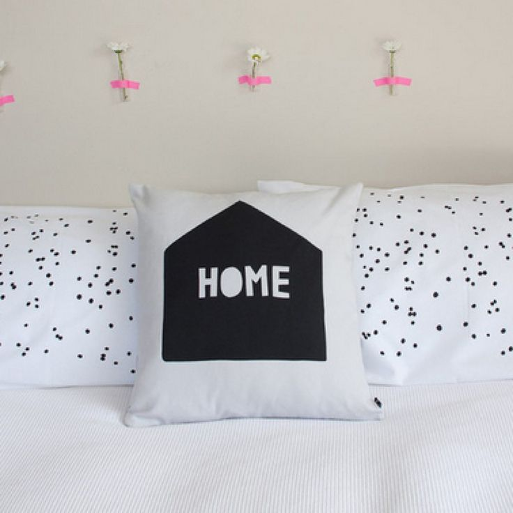 Henry and Co Charcoal Confetti Pillowcase