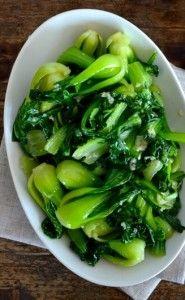 Garlic Butter Baby Bok Choy Recipe