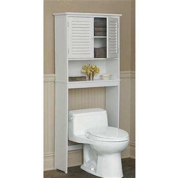 Ksp Townsend Toilet Surround Cabinet 66 X 25.5 X 157 Cm White   Kitchen Stuff Plus
