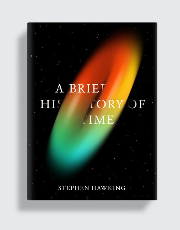 A Brief History of Time Uncommissioned cover for Stephen Hawking's A Brief History of Time. in Fresh