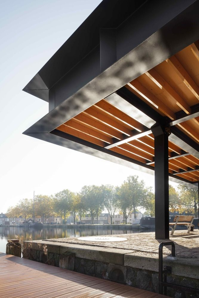 Gallery of Piushaven Harbour Pavilion / Civic Architects - 6