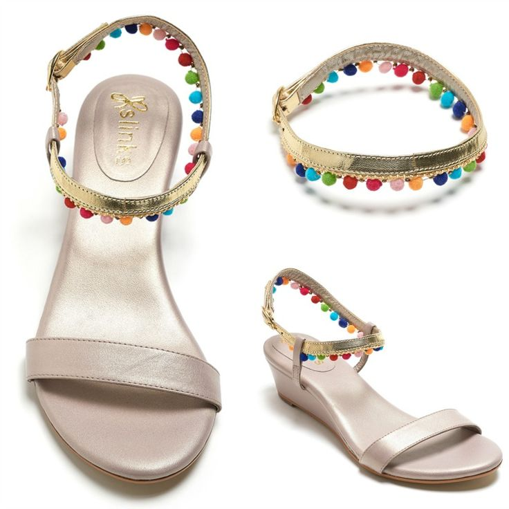 One base, endless styles of sandals - www.slinks.com The perfect interchangeable sandals for you!