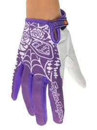 Troy Lee Designs purple Ace Voodoo Womens MX Glove   Troy Lee Designs   FreestyleXtreme