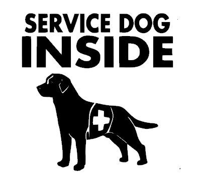 Service Dog Car Window Decal                                                                                                                                                                                 More