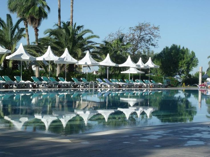 Main pool in November (photo taken by our guest Eugenie).