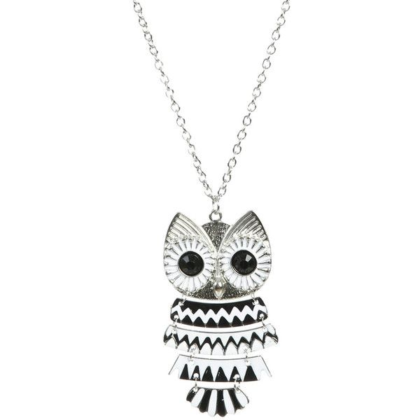 Owl Pendant NecklacePendant Necklace, Fashion, Necklaces 950, Pendants Necklaces, Adorable Owls, Accessories, Wet Seals Jewlery, Owls Pendants, Owls Necklaces