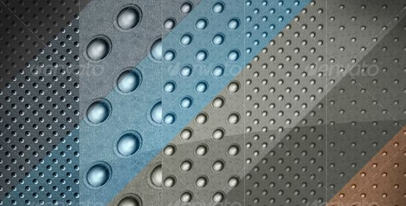 5 Carbon Metallic Color Background Textures