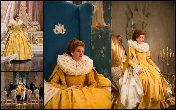 La reine robe jaune blanche neige de tarsem singh - Robe de blanche neige ...