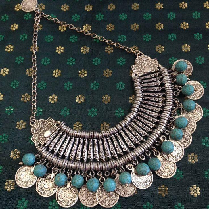 German Silver ,Oxidized Necklace | German Silver Jewelry ...