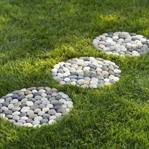 Garden Decorating Ideas With Pebbles   Always In Trend | Always In Within Diy Ideas For Garden Decor With Pebbles And Stones