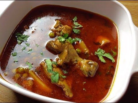 Aloo Matar Gosht Recipe - Tasty Chicken Salan Recipe by (HUMA IN THE KIT...
