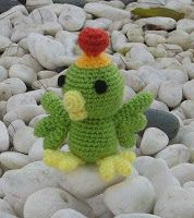 "Amigurumi The Bird in ""Celestial Warriors Sun Red"" - Free Pattern - PDF Download Click : http://sites.google.com/site/amigurumicat/Bird-03-CelestialWarriors-pattern.pdf. PDF SAVED."