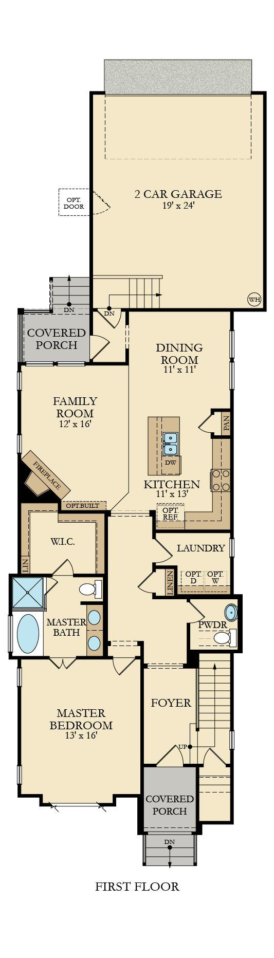246 best floor plans images on pinterest floor plans seattle mccoury new home plan in tollgate village wainwright collection by lennar