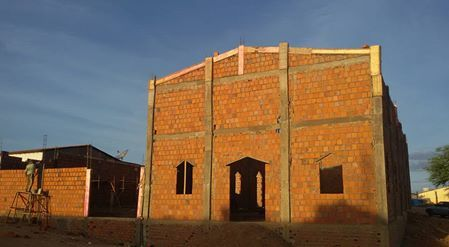 Blog Paulo Benjeri Notícias: Santa Cruz: Construção da Igreja São João Batista ...