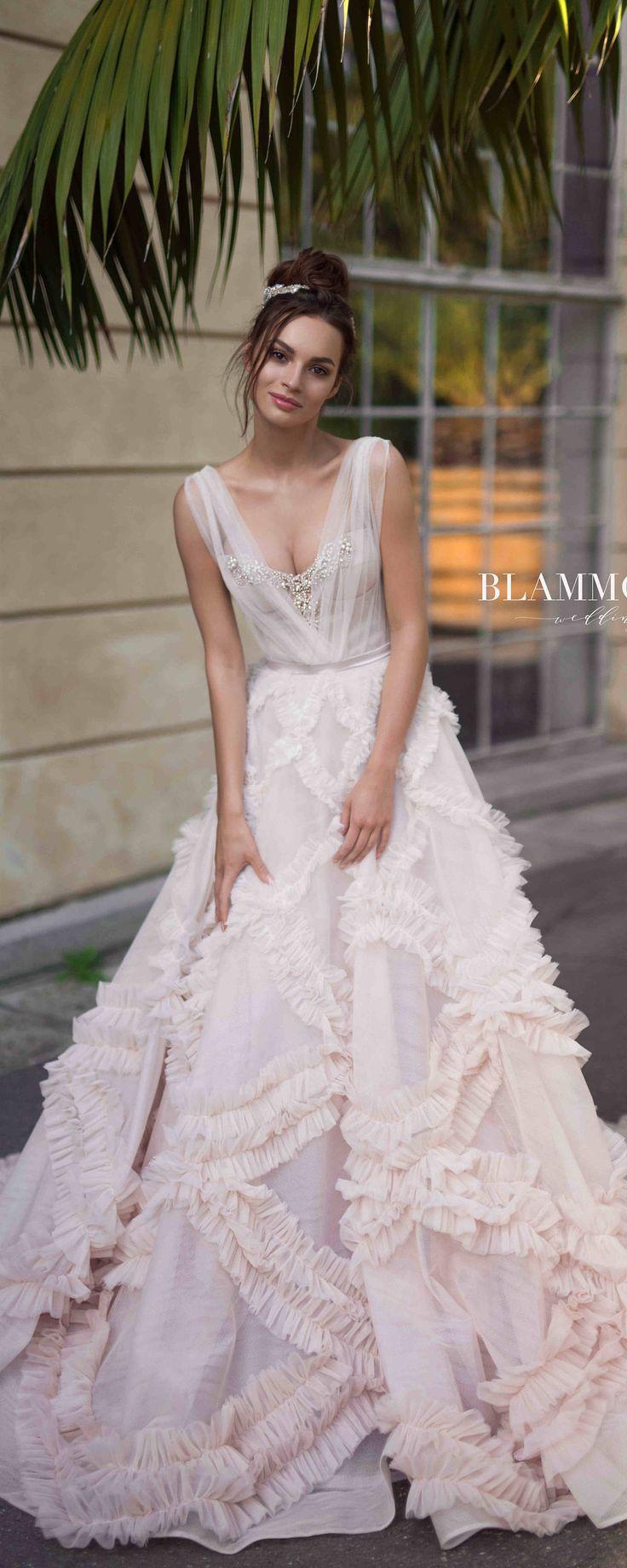 Unique wedding dress NOEL, bohemian wedding dress, tulle wedding dress, ball gown wedding dress, the princess bride, wedding dress