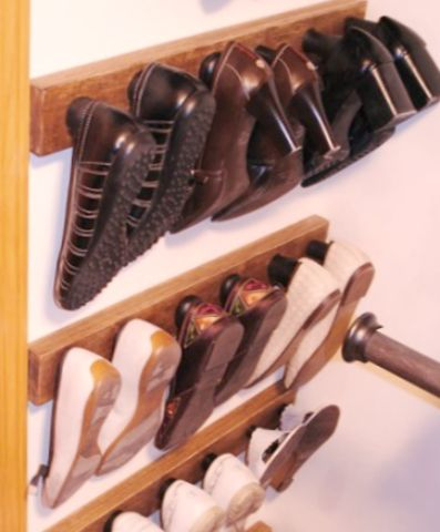 simple shoe storage closet storagerv